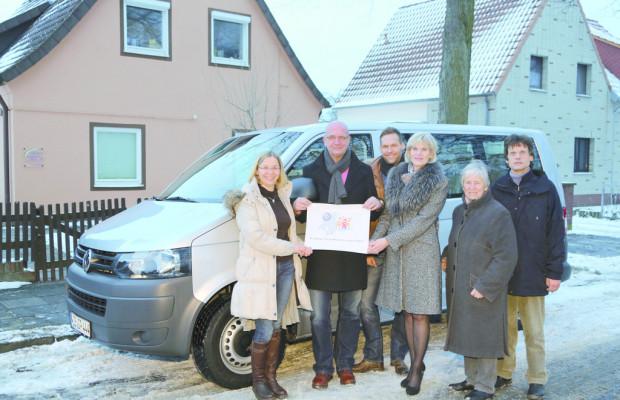 Volkswagen Belegschaft spendet für Autismus-Zentrum