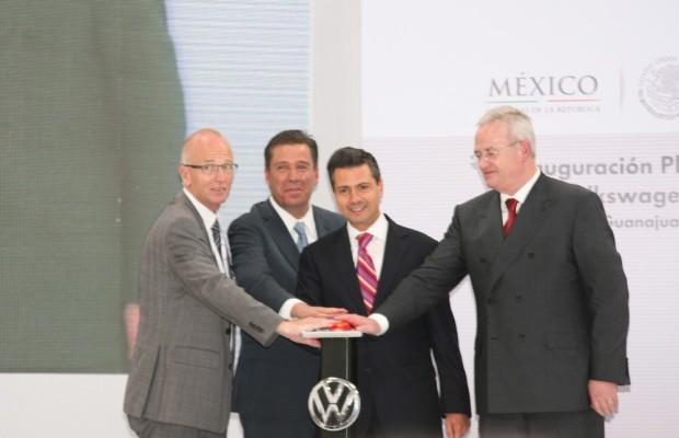 Volkswagen eröffnet sein 100. Werk