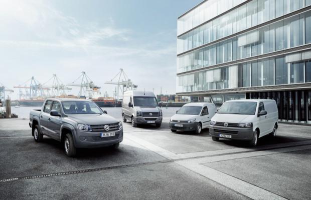 Volkswagen erreicht bei den Nutzfahrzeugen einen Verkaufsrekord