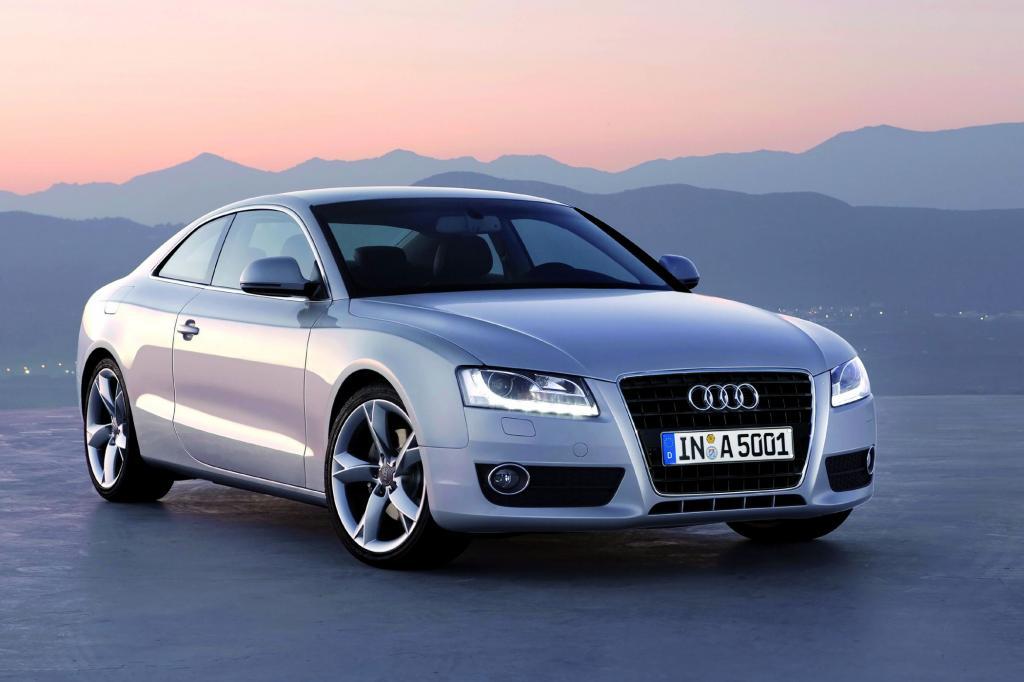 Zwischen A4 und A6 ist noch Platz, dachte sich anscheinend Audi und präsentierte 2007 das A5 Coupe