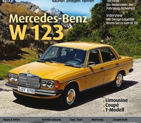 auto.de Buchtipp: Young Classics – Mercedes-Benz W 123