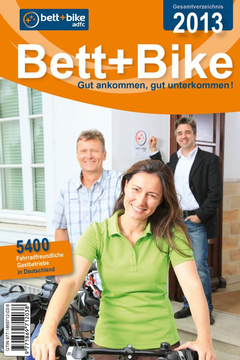 5 400 Gastbetriebe im Bett+Bike-Verzeichnis des ADFC