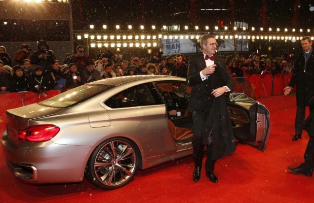 63. Berlinale: Premiumfahrzeuge von BMW im Rampenlicht