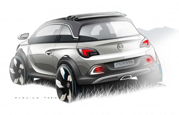 Adam oben ohne - Opel stellt in Genf Cabrio vor
