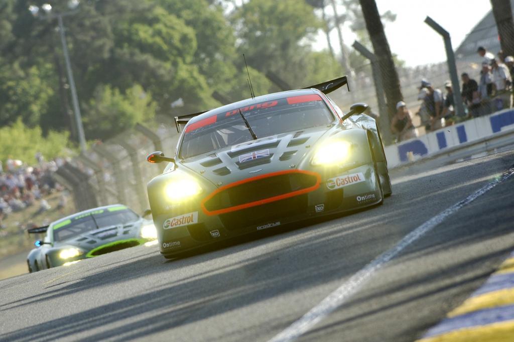 Aston Martin DBR9 Klassensiege in Le Mans 2007 und 2008