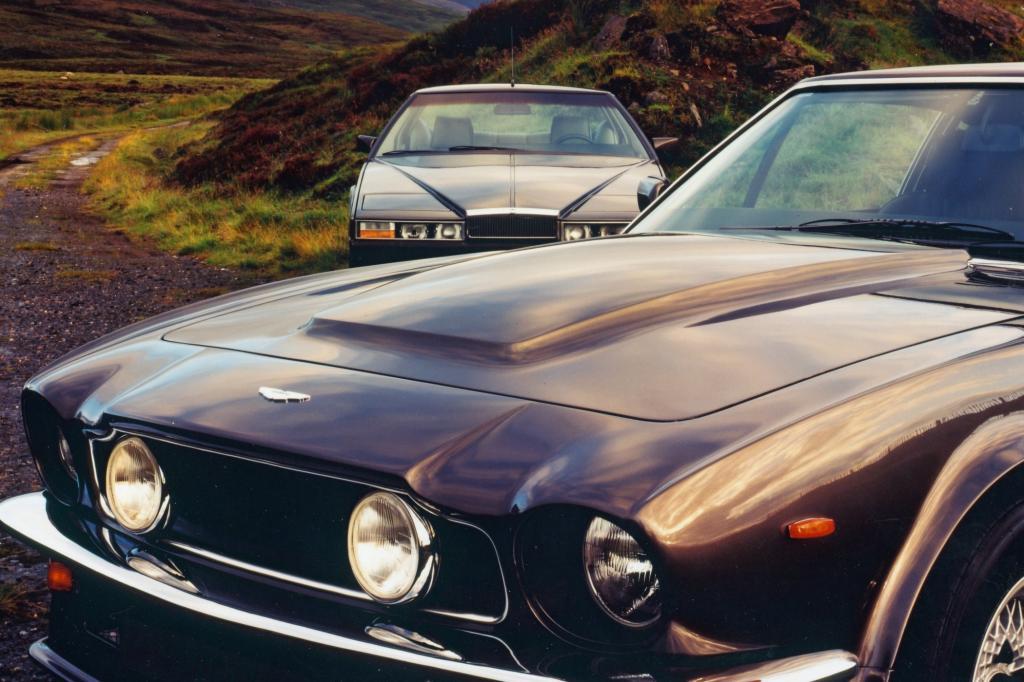 Aston Martin V8 Vantage und Lagonda 1977