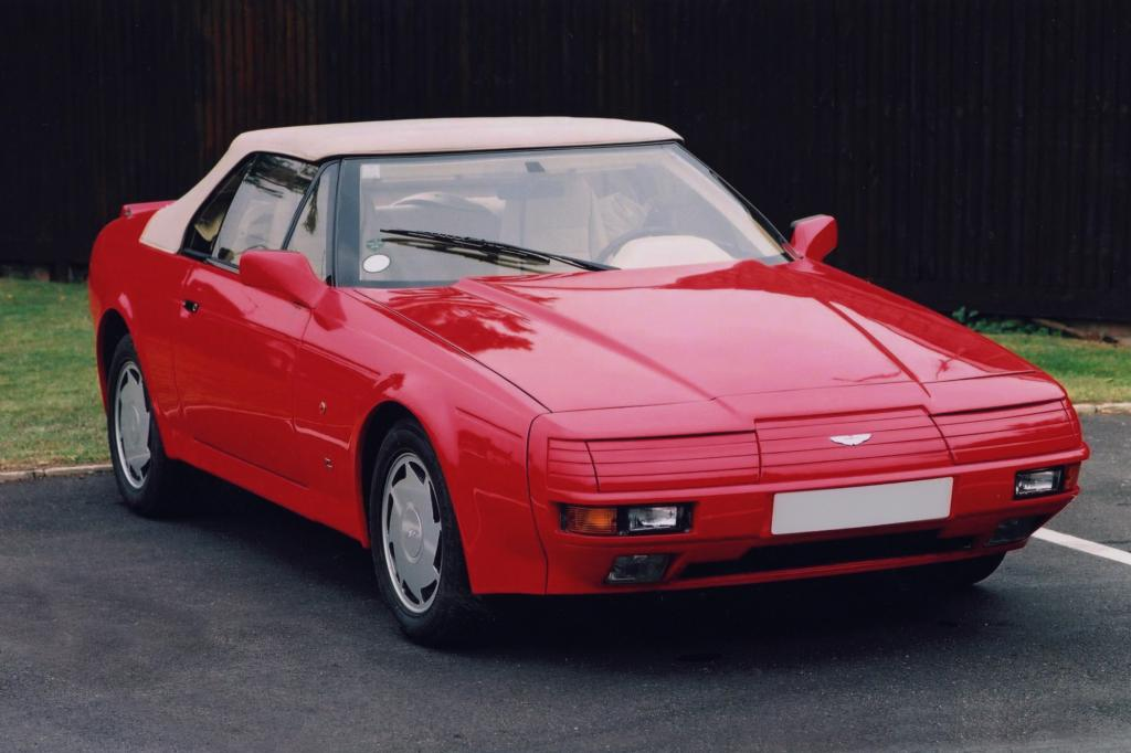 Aston Martin V8 Volante Zagato 1986