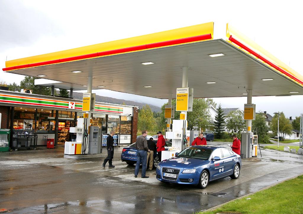 Autofreundlich heißt auch, eine gute Auswahl an Tankstellen zu haben.