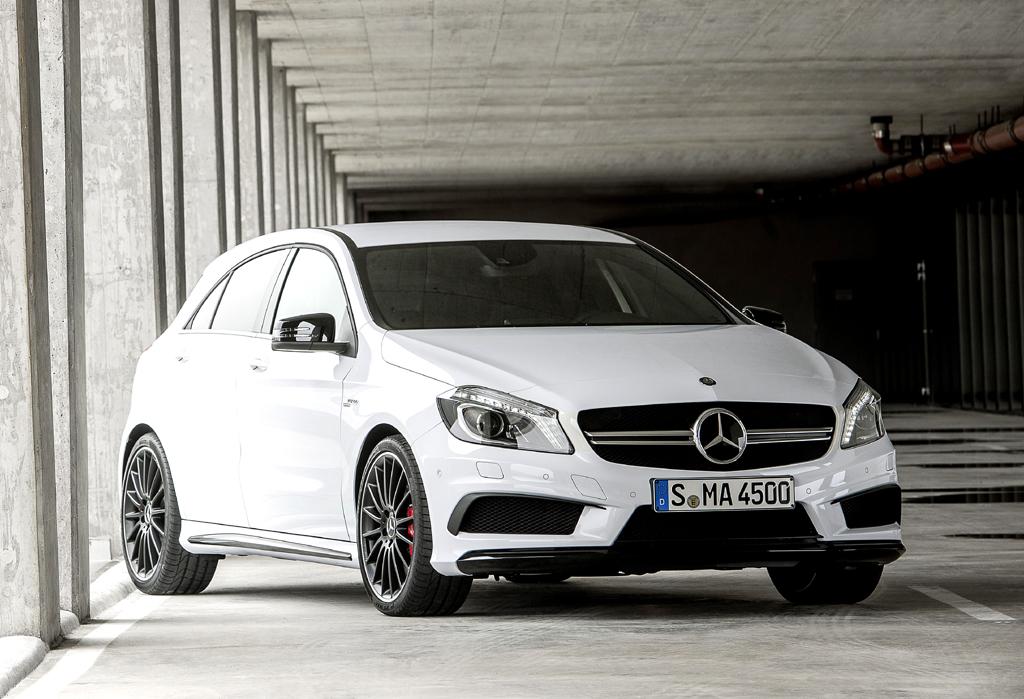 Baby-AMG: Mercedes-Tochter hat mit A 45 ersten Vierzylinder im Programm
