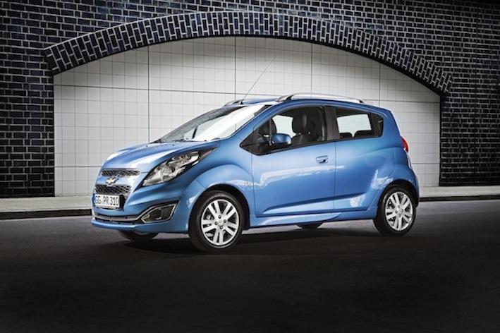 Chevrolet bietet Neuerungen für den Spark