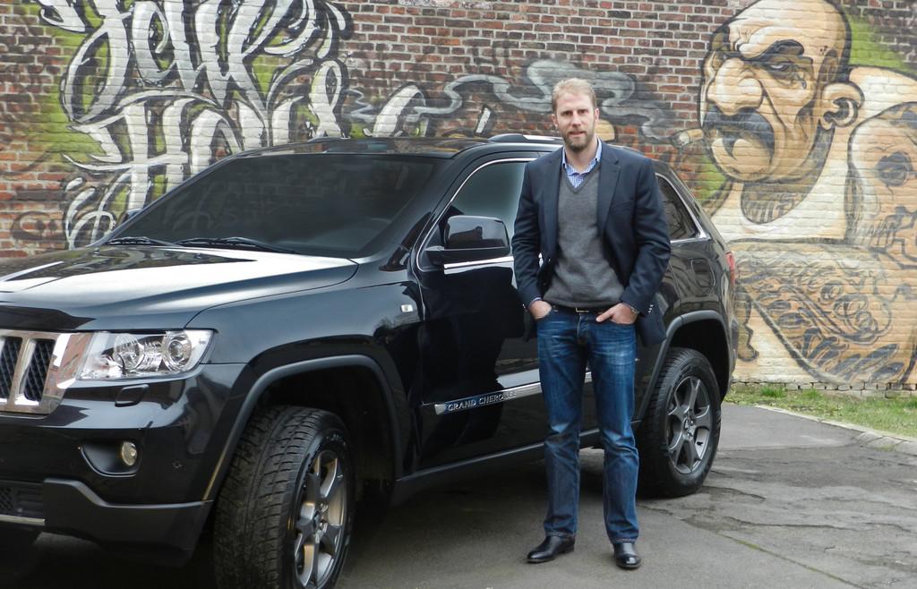 Christopher Posch fährt Jeep Grand Cherokee