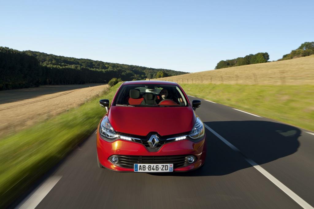 Das Design zeigt die neue Linie von Renault