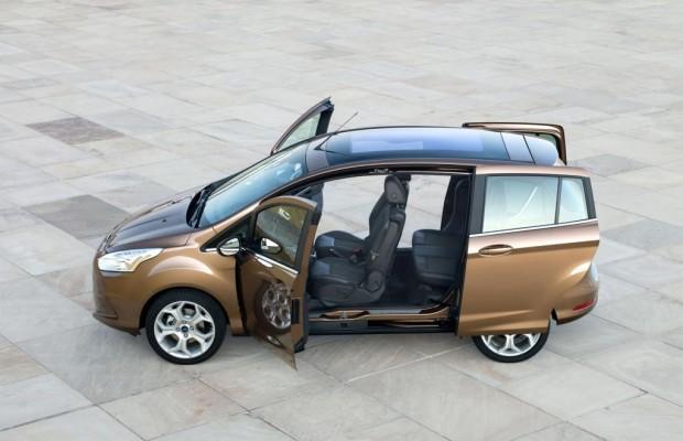 Den Ford B-Max dürfen Kinder strapazieren