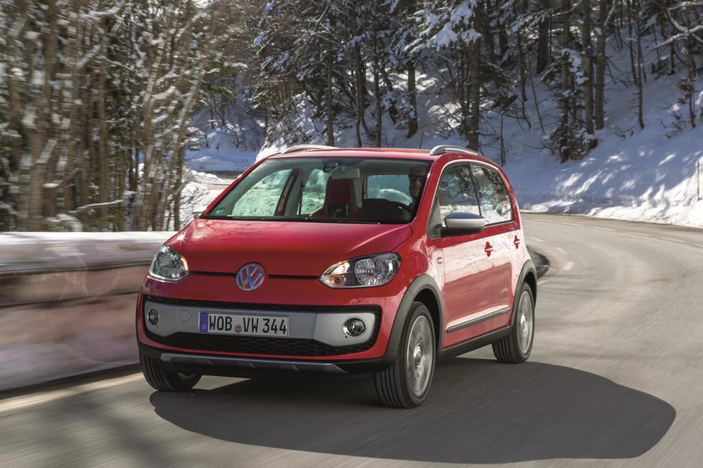 Den VW Up gibt es jetzt auch in einer Cross-Version