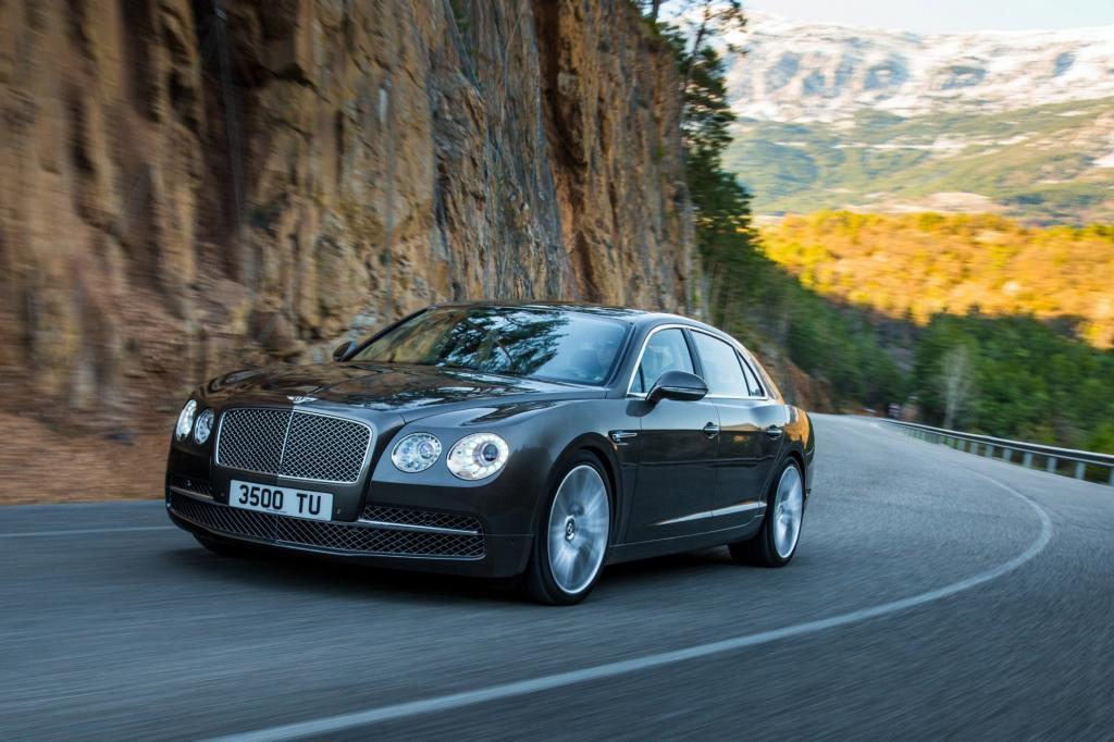 Der Bentley Flying Spur geht in die zweite Runde