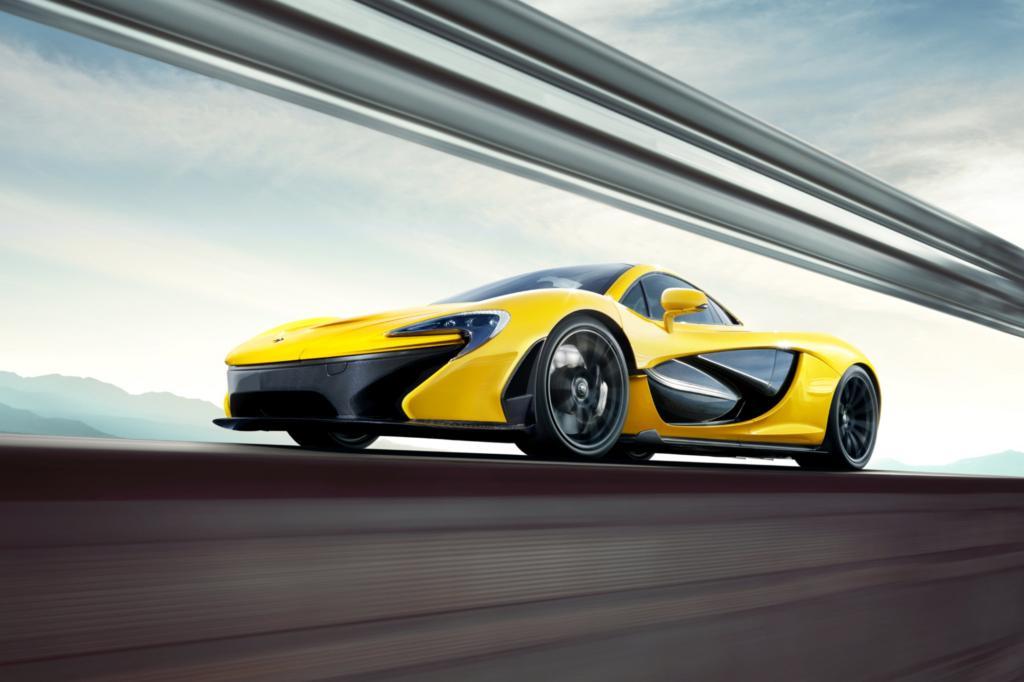 Der McLaren P1 feiert in Genf Premiere