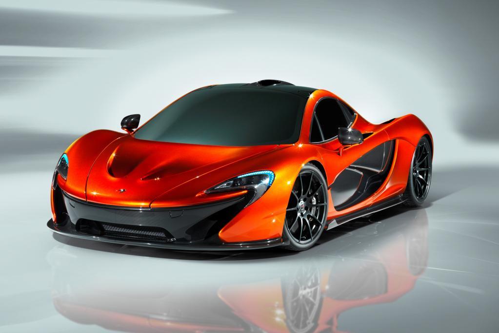 Der McLaren P1 ist in einer Auflage von 500 Einheiten geplant für jeweils rund eine Million Euro.