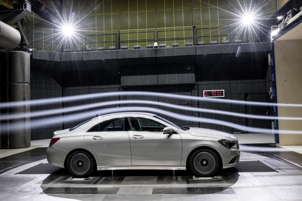 Der Mercedes CLA ist neuer Aerodynamik-Weltmeister