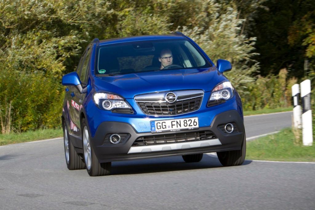 Der Opel Mokka war schon auf dem Genfer Salon 2012 zu sehen