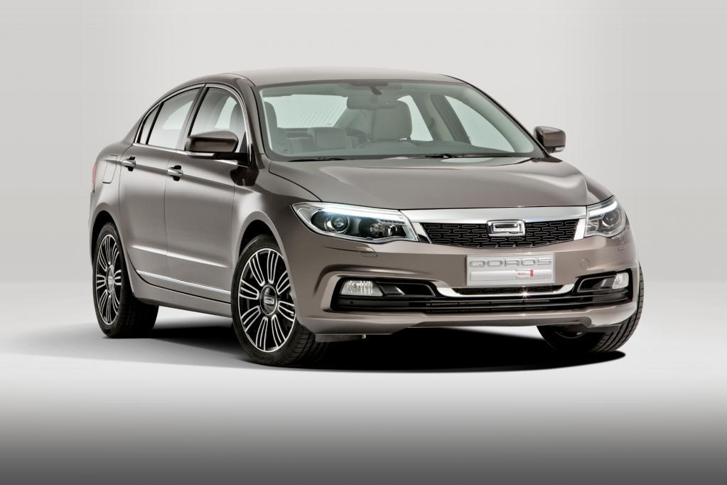Der Qoros 3 Sedan ist das erste serienreife Auto des chinesischen Herstellers.