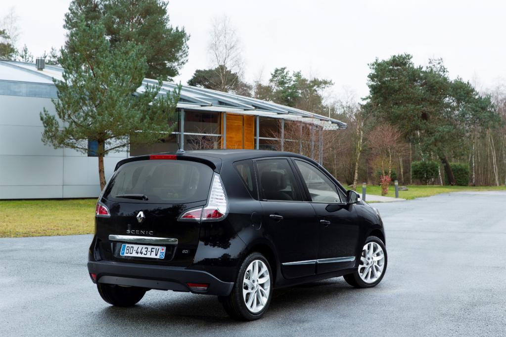 Der neue Renault Scenic erhält eine überarbeitete Karosserie und einen modernisierten Innenraum.