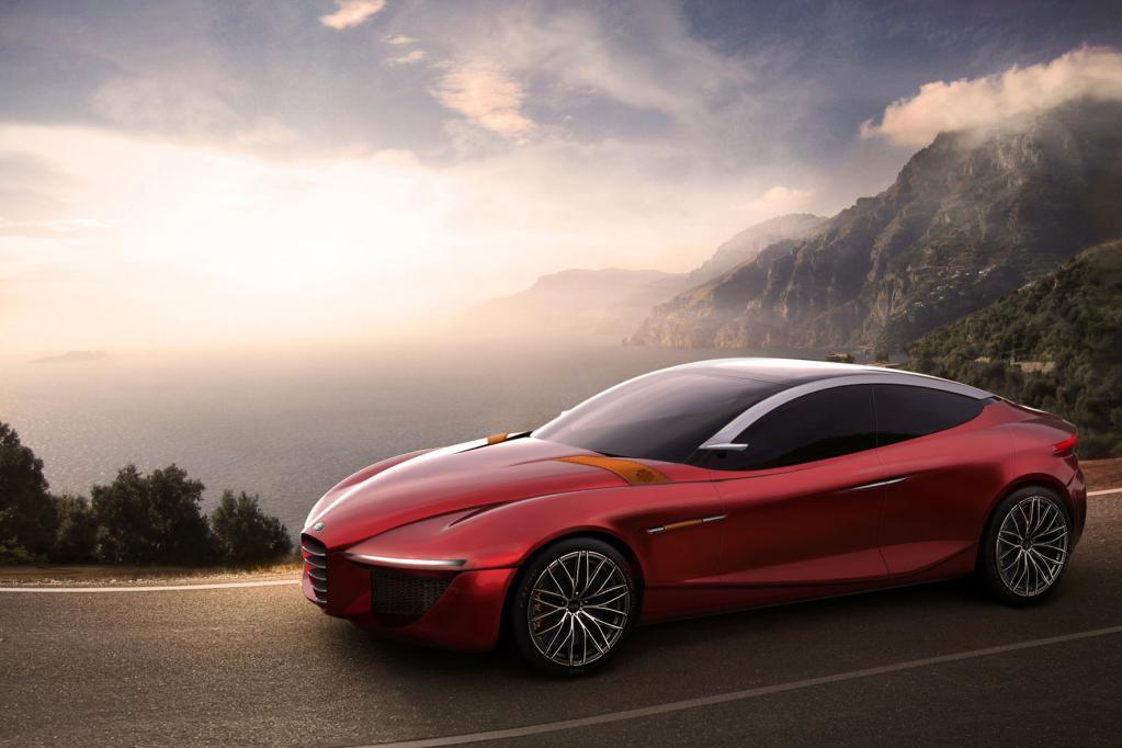 Die Studie Alfa Romeo