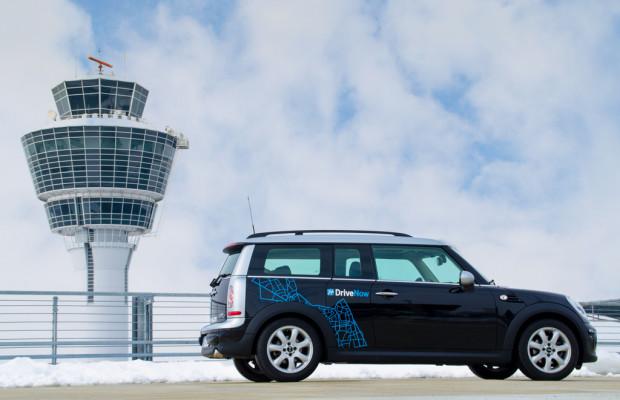 Drive-Now jetzt auch am Flughafen München