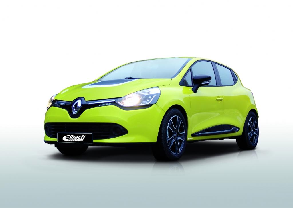Eibach Renault Clio IV: Tiefer und breiter