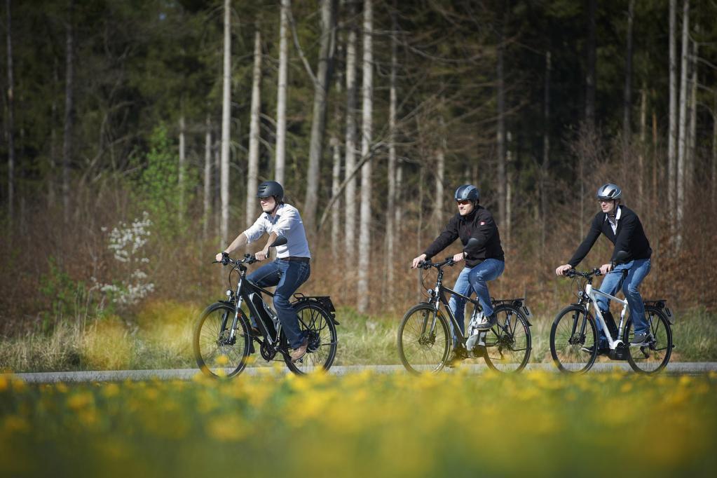 Elektro-Kasko für E-Bikes