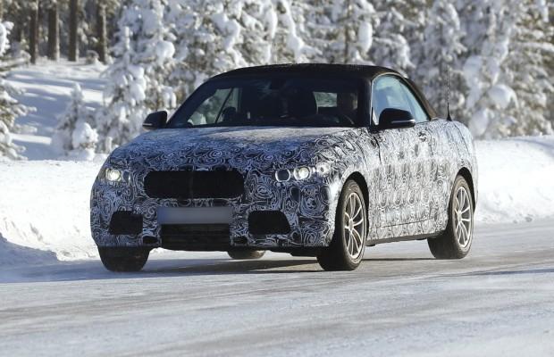 Erwischt: BMW 2er Cabrio – Frischluftvergnügen in der neuen 2er-Reihe