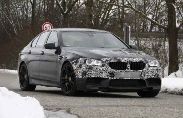 Erwischt: Erlkönig BMW M5  – Facelift für BMWs großen Bollerwagen