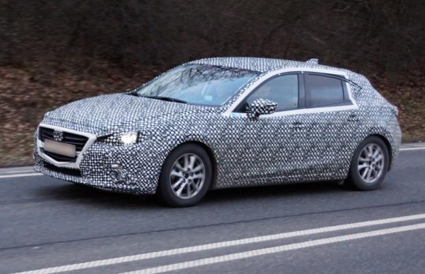 Erwischt: Erlkönig Mazda 3 – Mehr Kodo-Design