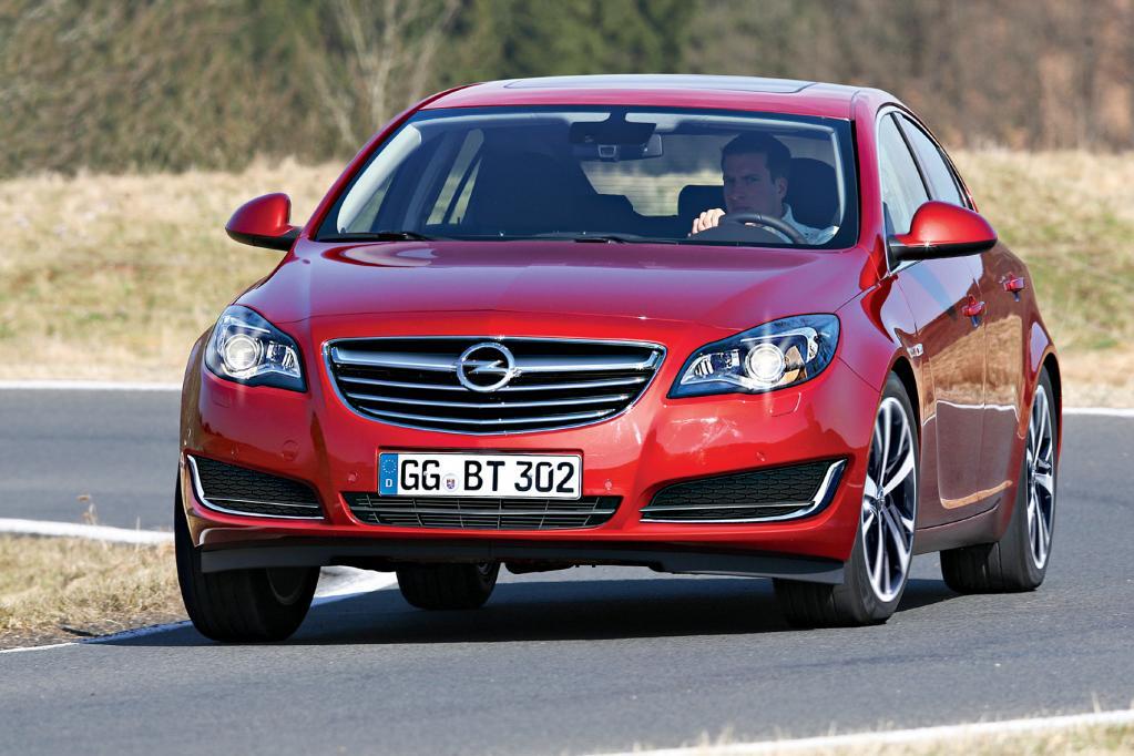 Facelift für den Opel Insignia