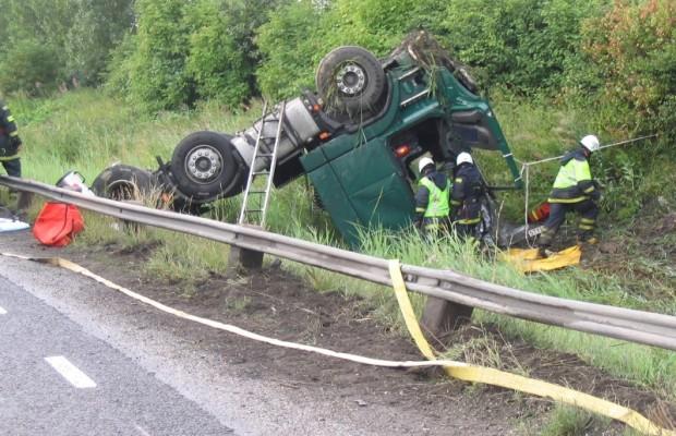 Faktor Mensch ist zu 90 Prozent Ursache von Lkw-Unfällen
