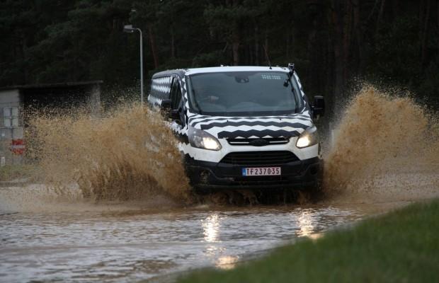 Ford Transit Custom Tests sind abgeschlossen