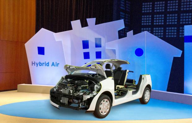 Genf 2013: Citroen Hybrid Air fährt