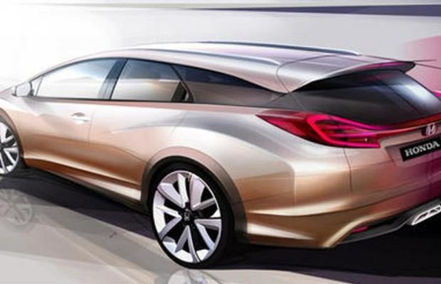 Genf 2013: Honda Civic Wagon Concept - Neue Varianten des Kompakten