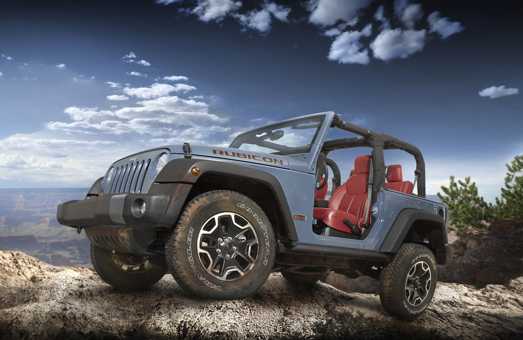 Genf 2013: Jeep zeigt Wrangler Rubicon