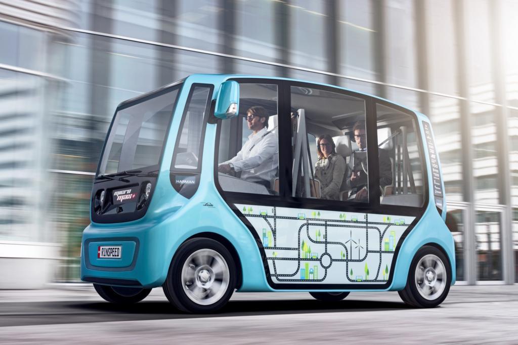 Genf 2013: Rinspeed Micromax - Kleinbus mit Schwarm-Intelligenz