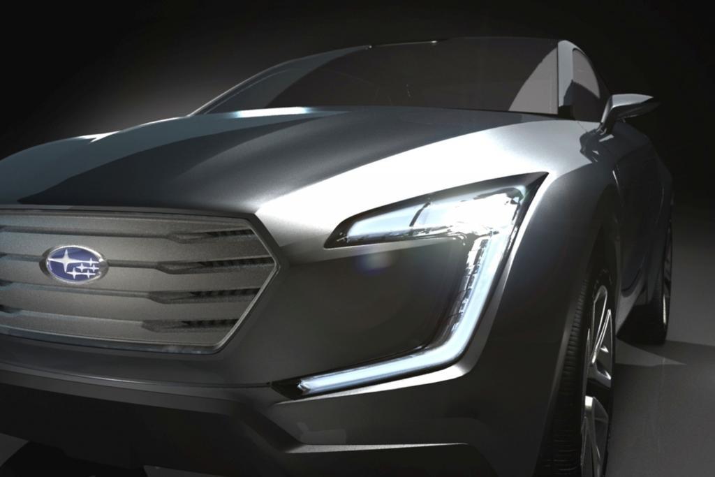 Genf 2013: Subaru-Studie Viziv - Boxer-Diesel mit Stromanschluss