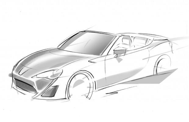 Genf 2013: Toyota zeigt GT 86 Cabrio