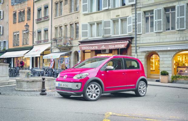 Genf 2013: Volkswagen Up bald auch als Cross Up
