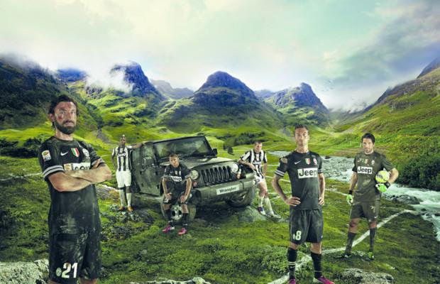 Jeep startet Kampagne mit Juventus Turin