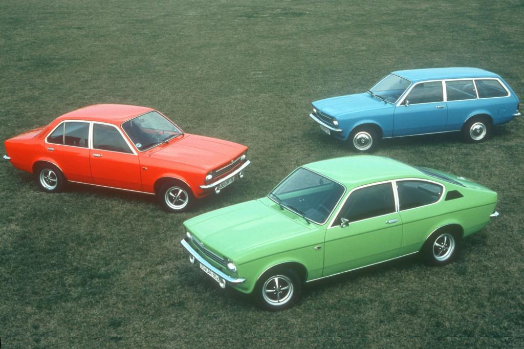 Kadett Limousine, Caravan und Coupe 1973