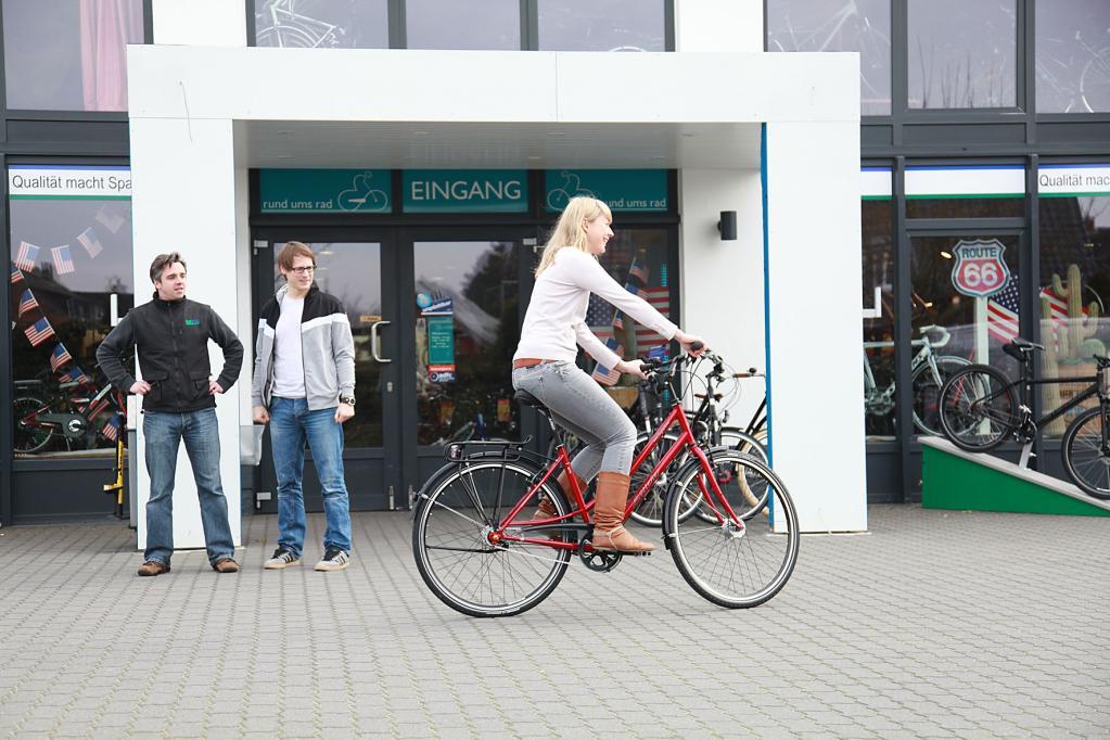 Kein Fahrradkauf ohne Probefahrt