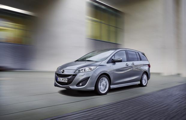 Mehr Ausstattung für den Mazda5