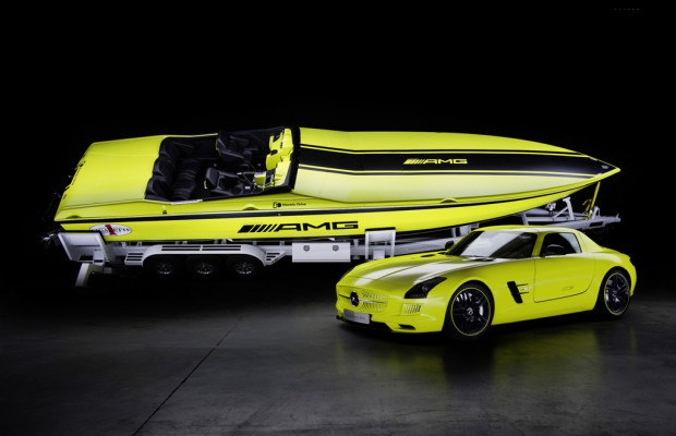 Mercedes-AMG treibt Elektro-Powerboat an