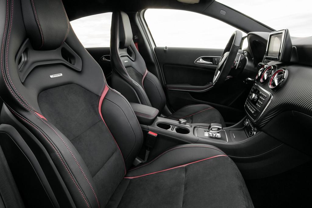 Mercedes-Benz A 45 AMG hat weltweit stärksten Vierzylinder
