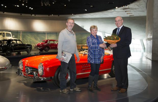 Mercedes-Benz Museum empfängt fünfmillionste Besucherin