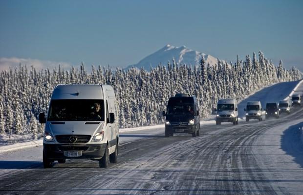 Mercedes-Benz stellt die besten Tranporter aufs Eis